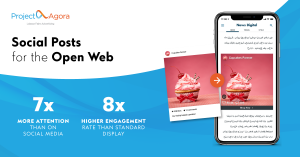 Distribute your social posts as mobile ads in the Open Web with Social Cards