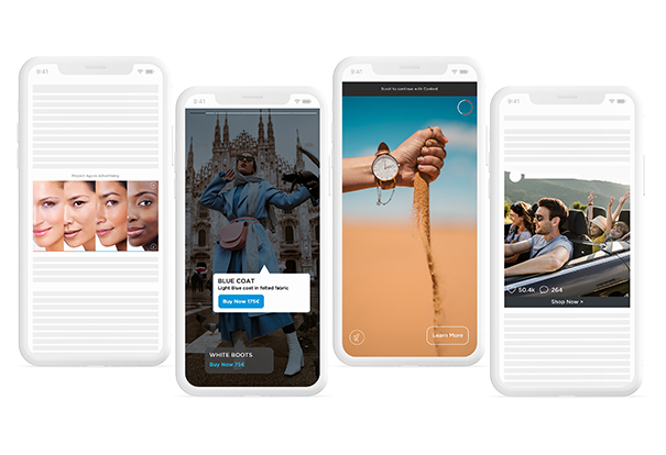 Project Agora provides a selection of innovative native ad-formats