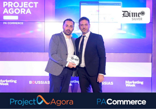 Project Agora Commerce received Silver at Dime Awards