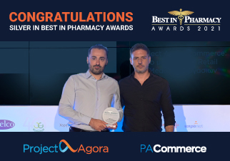 Silver Award for Project Agora at Best in Pharmacy Awards 2021